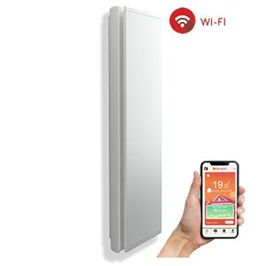 Radiatori Elettrici Verticali Dual-Therm Connessi ICON Wi-Fi